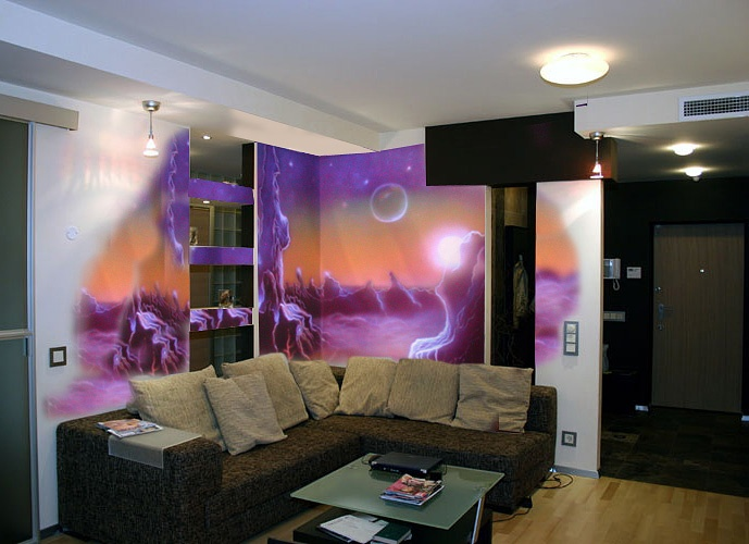 Custom Hand Painted Wall Murals By Eelna Part 51