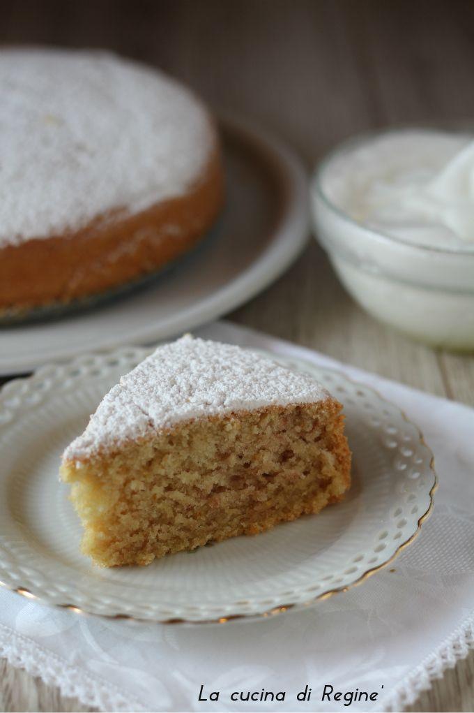 Torta nuvola di soli albumi una torta leggera e facile da preparare con pochi e semplici ingredienti, adatta anche agli intolleranti