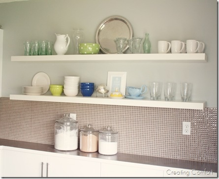 118 Best Floating Shelves Images On Pinterest | Kitchen Ideas, New Kitchen  And Open Shelving