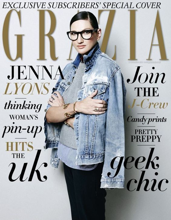 I don't know about you, but I love a good Jenna Lyons portrait sesh. This new batch by photographer Takahiro Ogawa for Grazia Magazine doesn't disappoint. What I would give for that office! The wom...