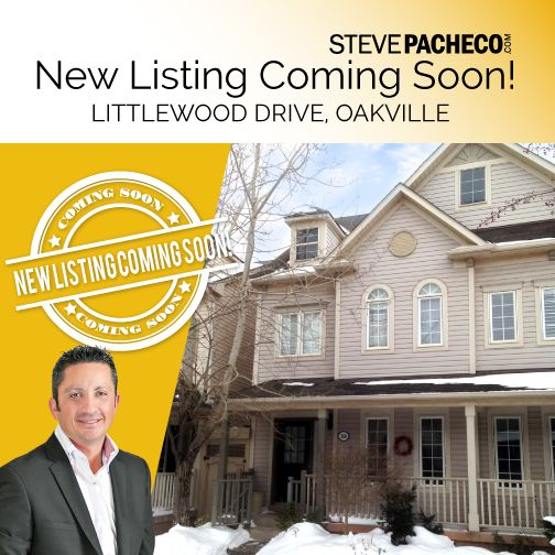COMING SOON! Beautiful townhome in Oak Park in Oakville! Stay tuned!! ‪#‎HomeForSaleOakville‬ www.stevepacheco.com