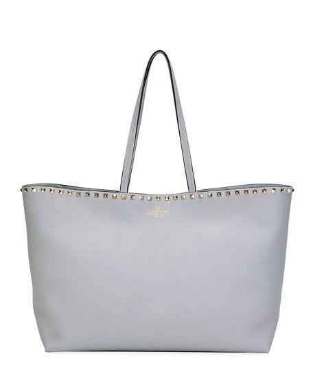 1569692d1e3e2 Valentino Rockstud Vitello Tote Bag in 2019 | Shop with me - https ...