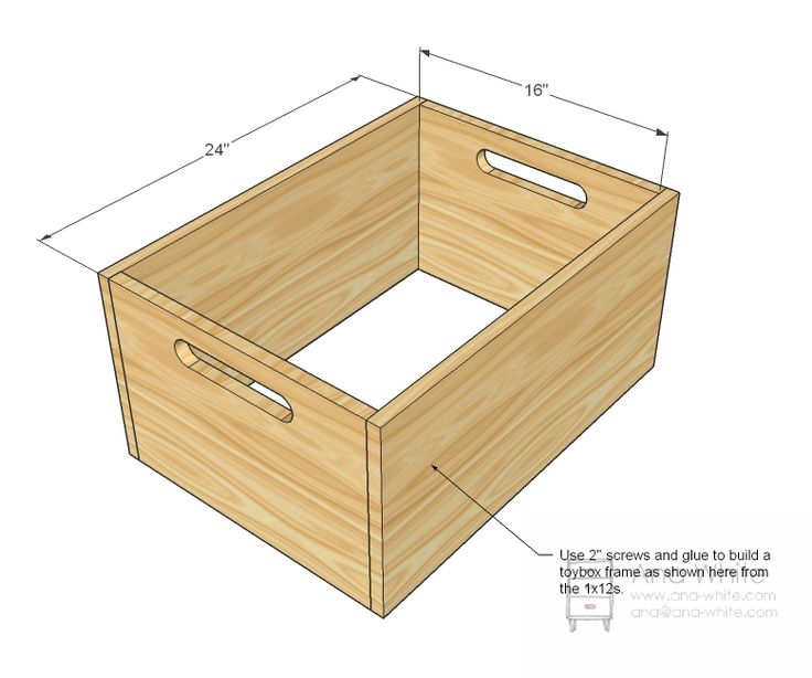 Ana white build a stacking toy boxes free and easy diy for Toy chest plans
