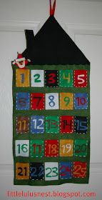 little lulu's nest: DIY advent calendar