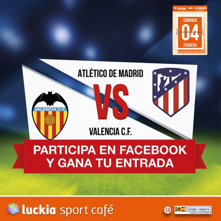 ⚽️Consigue una entrada para el partido Atlético de Madrid- Valencia⚽️
