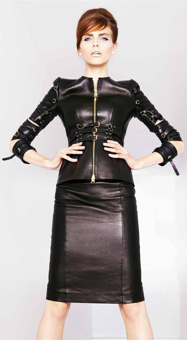 1000 Images About Lady Boss Leather Suits On Pinterest Tom Ford Python And Leather