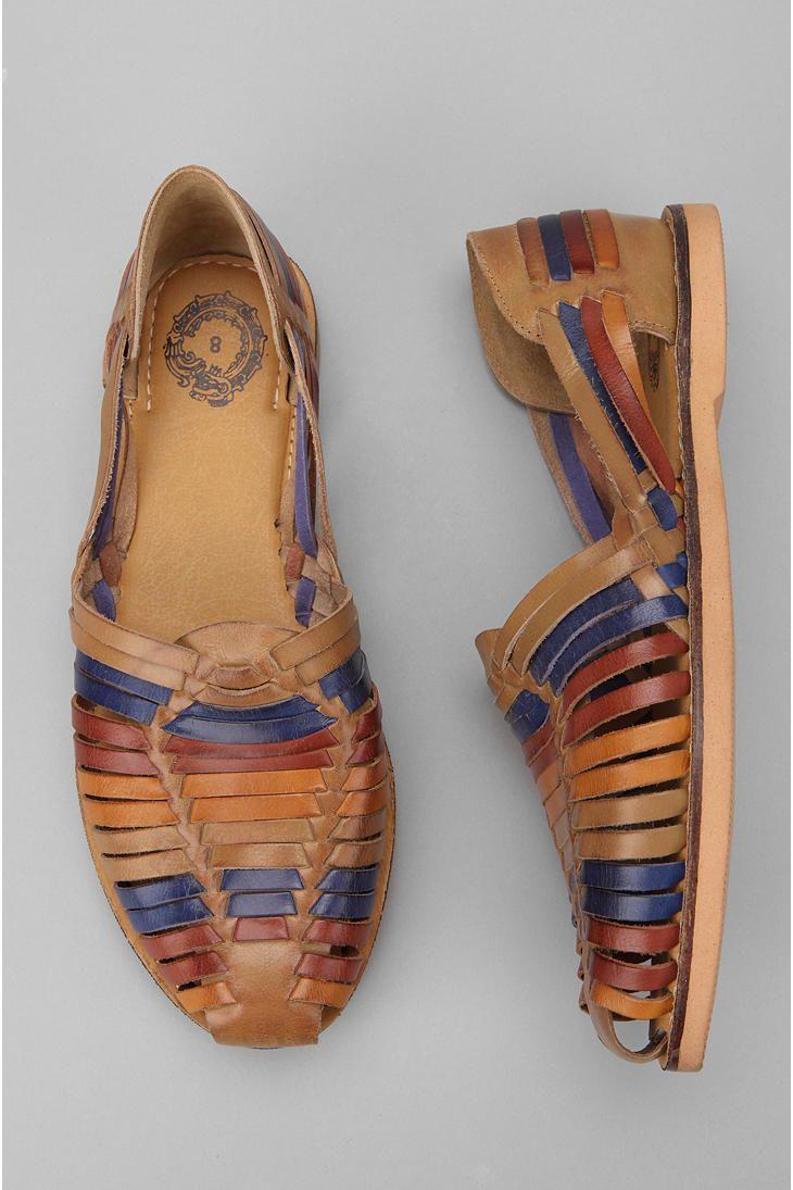 Leather Huarache Sandal #UrbanOutfitters