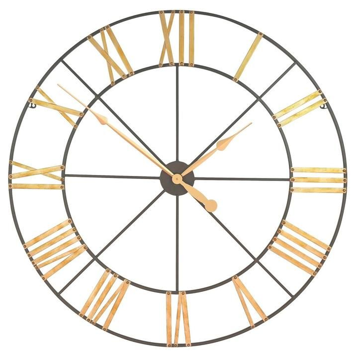 Lily Manor Oversized Paray Wall Clock Big Wall Clocks Clock Oversized Clocks