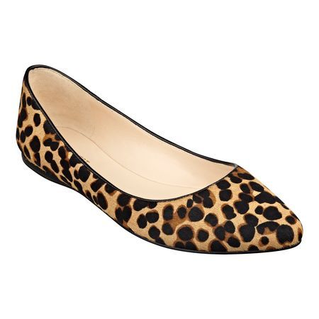 I can't resist an animal print flat. These Nine West's Speakup pointy toe flats are a candidate for my 2014 Fall wardrobe.