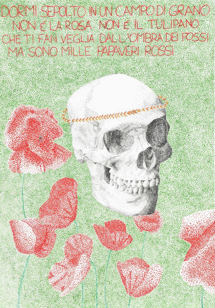 Etsy Disegno Teschio skull colorato scheletro