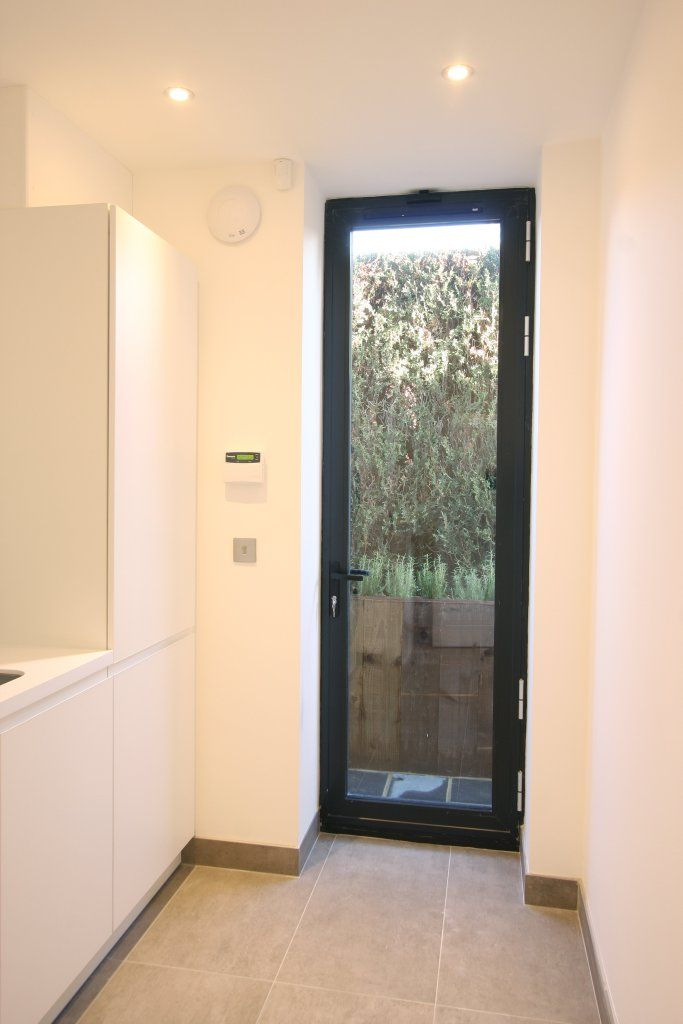Slim frame aluminium casement doors perfect for narrow openings
