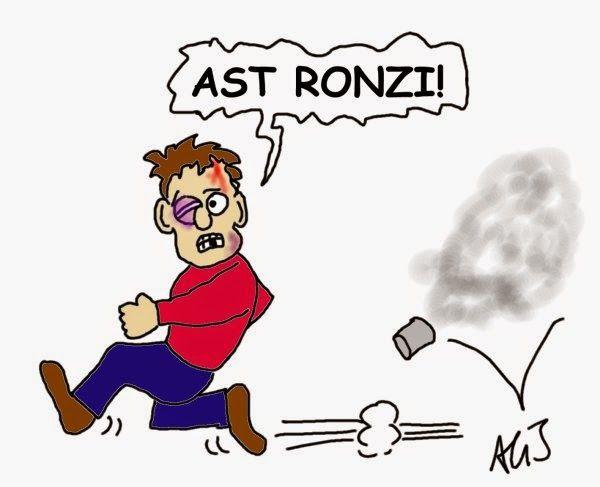 Disordini alla manifestazione per la AST di Terni