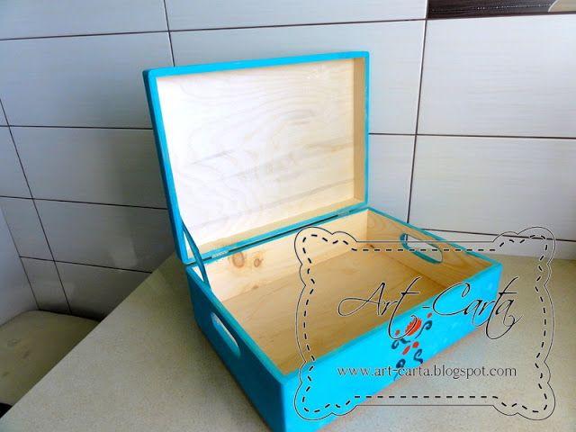 Art-Carta : Malowana trówla