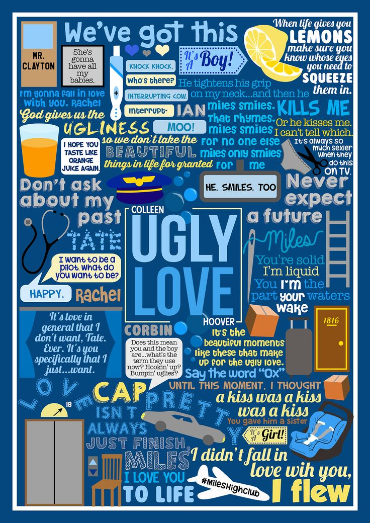 ugly love colleen hoover | Tumblr