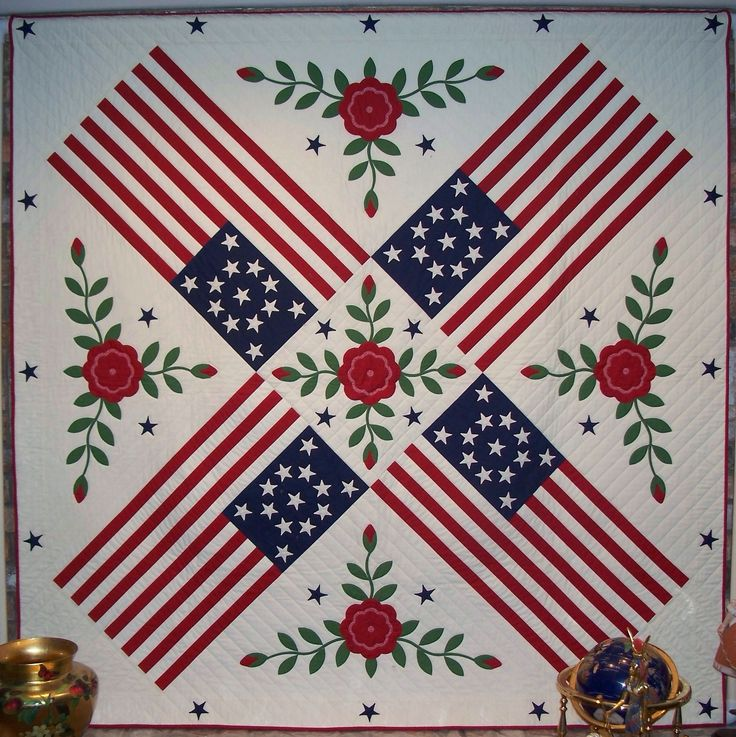 30 Best Images About Patriotic Quilts On Pinterest