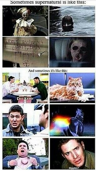 Two sides of Supernatural