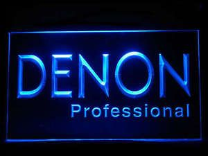 Denon Professional LED Sign www.shacksign.com