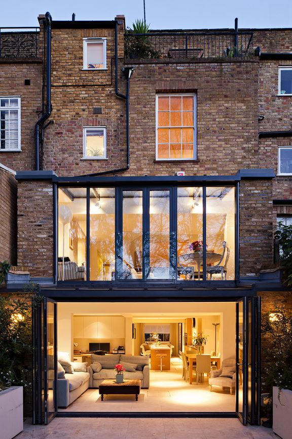 Retractable Doors. Fieldstone Windows and Doors #renovation #windows #backyard