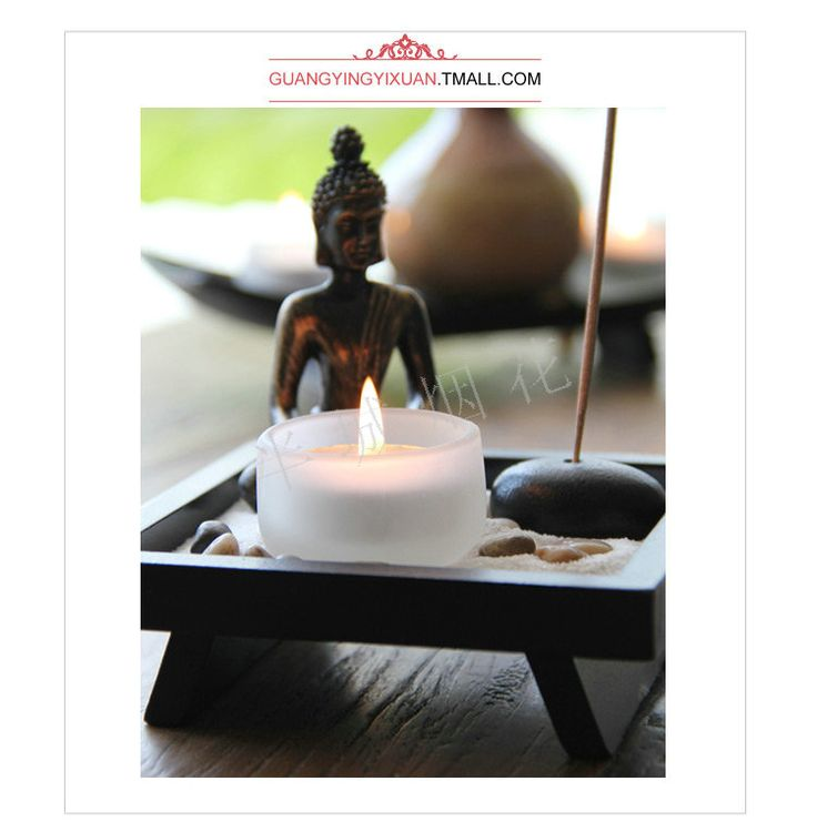 Encontrar Más Candelabros Información acerca de Budista equipamiento del hogar decoración decoración artesanía de velas venta al por mayor YD50 chino Zen buda mesa de incienso, alta calidad tenis de mesa tabla de precios, China ventilador de mesa Proveedores, barato mesa de caballete de Soft time Home decoration en Aliexpress.com