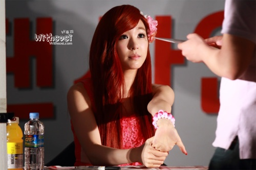 Tiffany : Twinkle Fansign