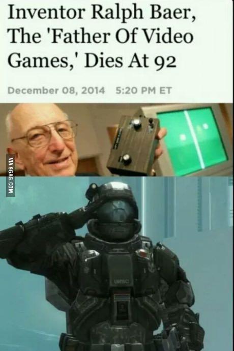 Everyone should salute him