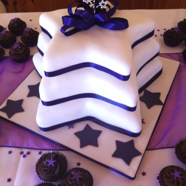 Tiered Wedding Cake, Cute