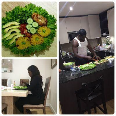 Sophia Steve            : Aww, how sweet! Teebillz cooks for his wife/new mu...