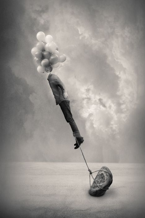 Reality Rearranged: Black and White Surrealist Photography by Tommy Ingberg