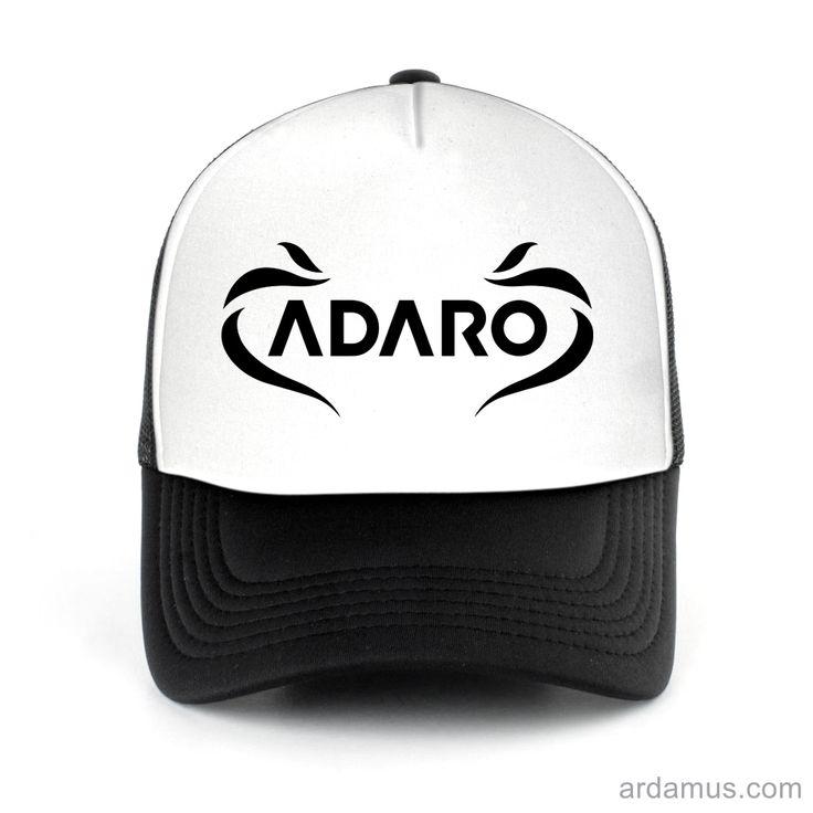 Adaro Trucker Hat for men or women. Available color black, red, pink, green. Shop more at ARDAMUS.COM #djtruckerhat #djcap #djsnapback #djhat