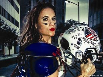Football history was made rather quietly over the weekend in Texas. During an Indoor Football League game between the Texas Revolution and the North T...