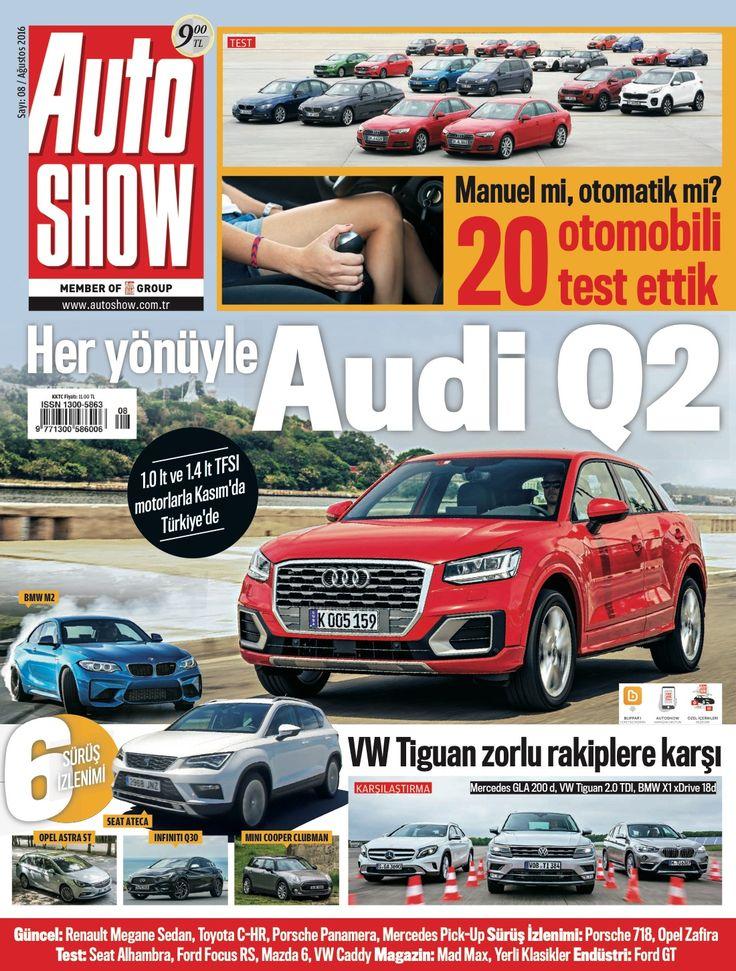 Auto Show Ağustos sayısı dop doldolu! Audi Q2, Porsche'nin efsanelerinden 718 Cayman, Tutumlu ve güçlü Mazda 6 ve daha fazlası...