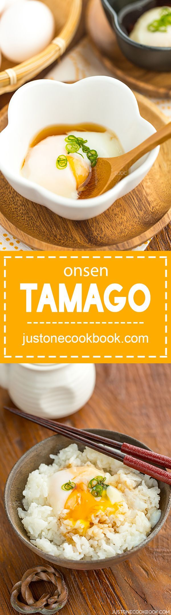 Onsen Tamago (温泉卵) | Easy Japanese Recipes at http://JustOneCookbook.com