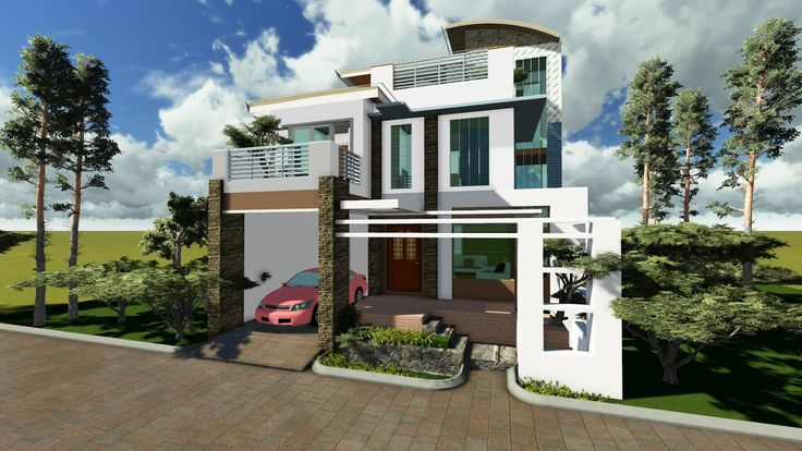Model house design pictures