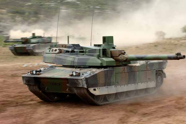 Char Leclerc, french Main Battle Tank