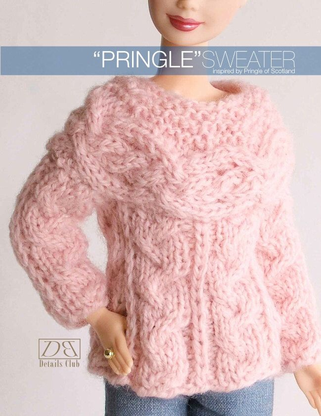 Knitting Pattern Barbie Jumper : 1000+ images about Barbie knit on Pinterest Crochet barbie clothes, Free pa...