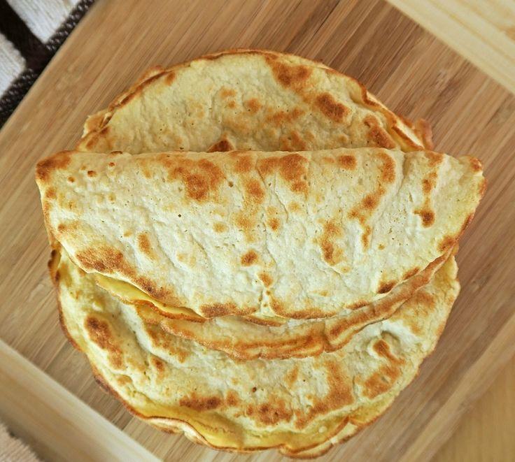 3-Ingredient Coconut Tortillas (Low-Carb, Dairy & Gluten-Free)