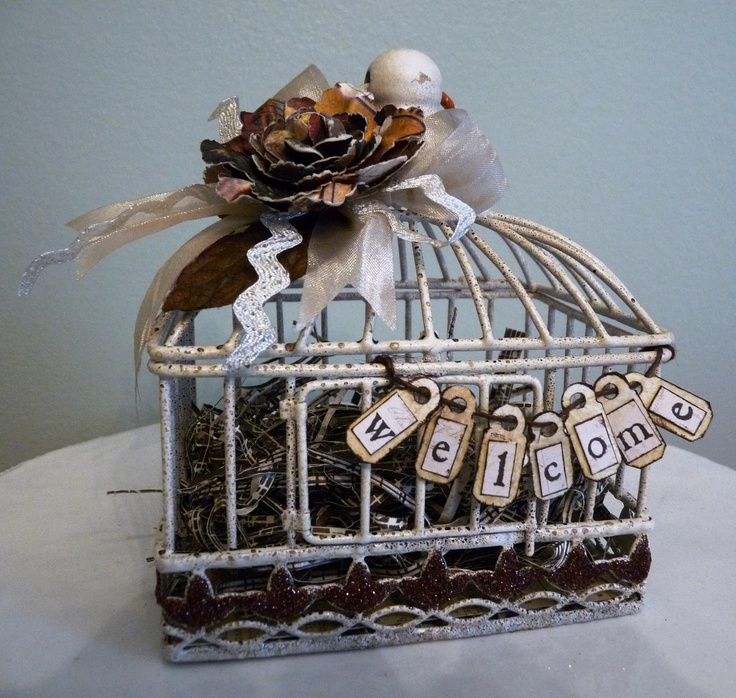 1000+ Images About Altered Bird Cage On Pinterest