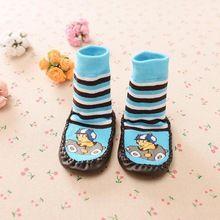 Crianças meias antiderrapantes bebê meias com sola de borracha new born roupa do bebê recém-nascido roupas de inverno desgaste crianças meias calcetines grande alishoppbrasil
