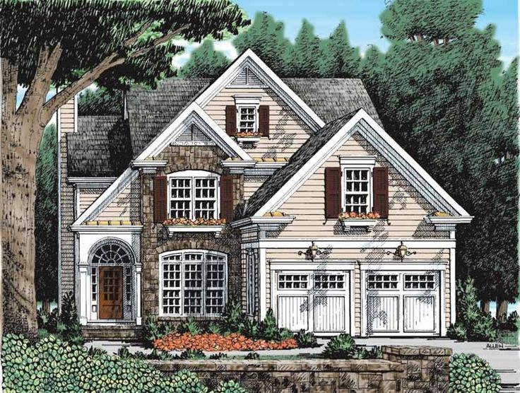 eplans french country house plan country home with rustic appeal 2370 square feet and 3 bedrooms from eplans house plan code