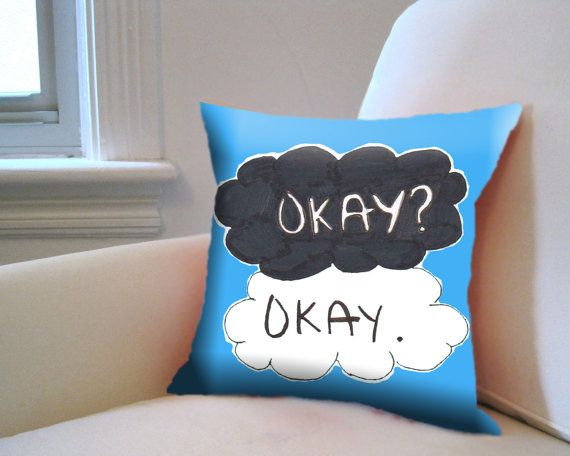 Design Pillow Case  The Fault in Our Star Okay Quote by acepoker, $14.80