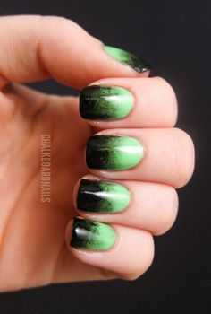 We like to think that the Bride of Frankenstein would definitely rock these ghoulish nails.