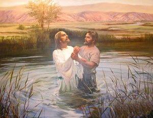 Jesus' Baptism an Example