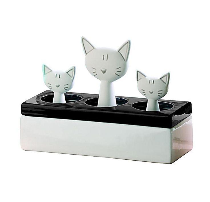 """Luftbefeuchter """"Katzenfamilie"""""""