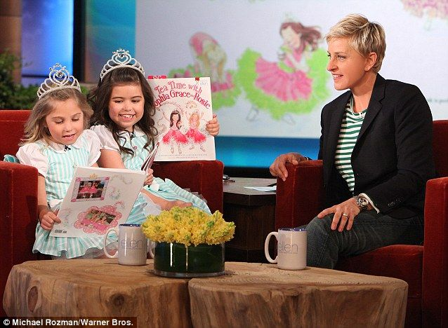 19 best sofia grace and rosie images on pinterest grace o 39 malley mail online and singing - Ellen show new york ...