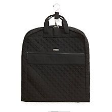 Going Places Garment Bag in Classic Black | Vera Bradley