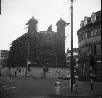 Sailors home demolition 1970
