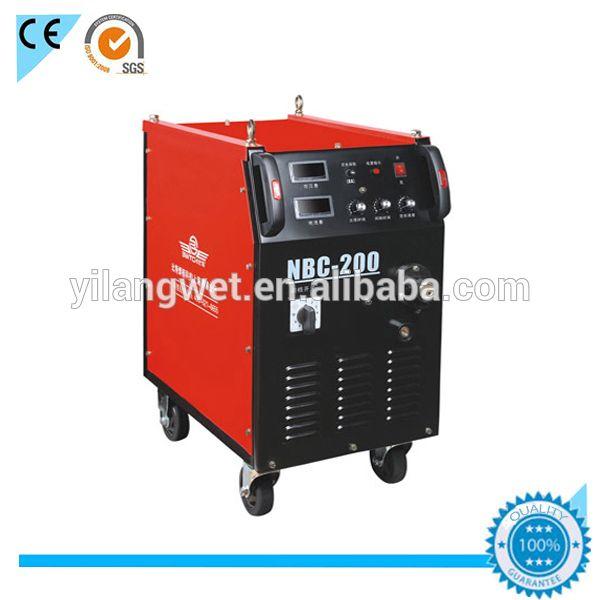 Integrated design arc welder 350 amp mig welding NBC-350 with mig welding wire feeder motor