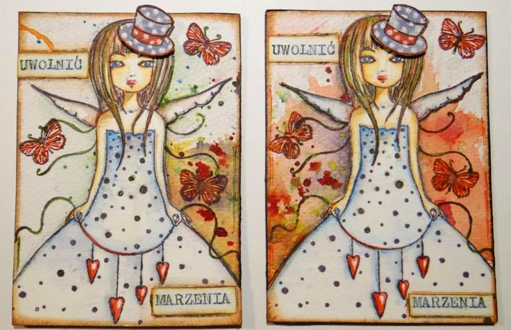 """Santoro Mirabelle """"Butterfly"""" Clear Stamp"""