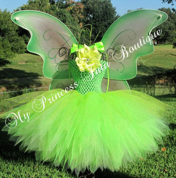 Tinkerbell Dress by MyPrincessTutuBoutique on Etsy