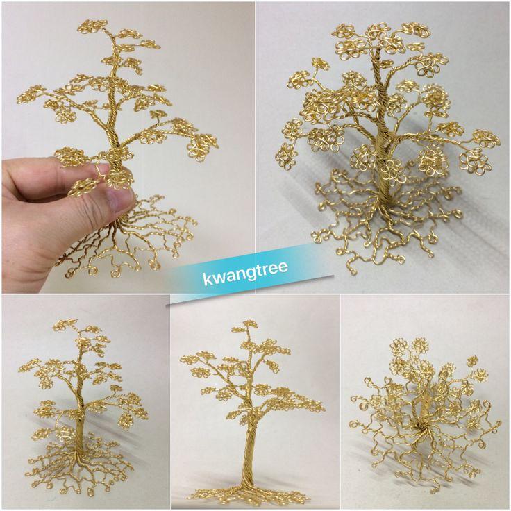 금나무~ #철사공예 #와이어아트 #와이어공예 #WireArt #WireCrafts #ワイヤーアート #針金細工 #はりがねさいく #Wiretree #WireWood #树